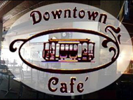 DowntownCafeCT.com is a website designed by Kathy Raymond of CT